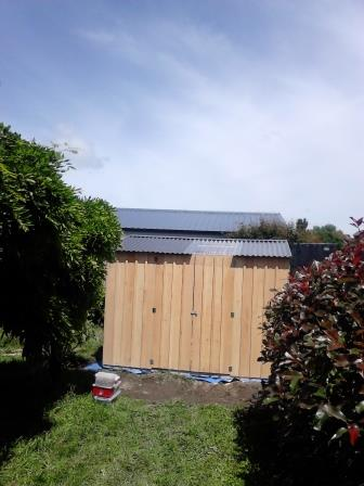 3.0m Macrocapra Gable Shed