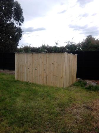 3.6m Pine Board and Batten Shed