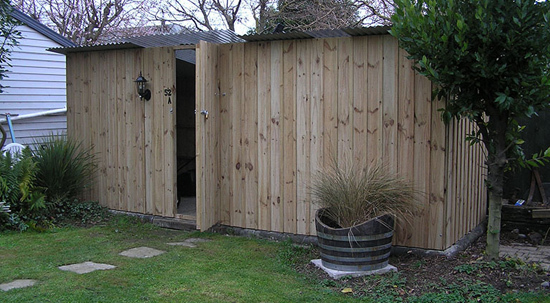 Pine Wooden Garden Shed