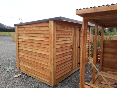 Garden Fully Built Office Shed