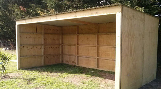 Portable Shed For Small Business : Mono pitch roof buy now for a very affordable cost