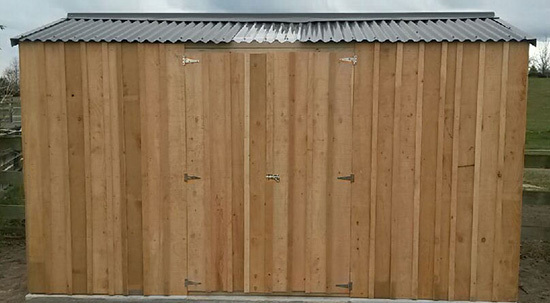 Macrocarpa Gable Shed