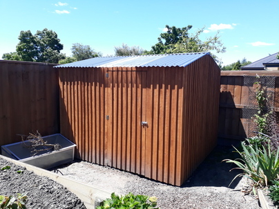 small wooden garden sheds nz